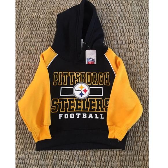 Toddler Pittsburgh Steelers NFL Hoodie Pullover 08db82946